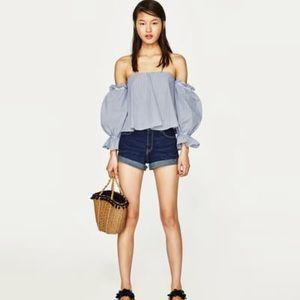 Zara High Waist Short NWT